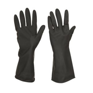 BLACK INDUSTRIAL GLOVES