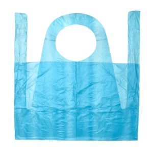 PLASTIC COLOURED APRONS – 100pcpack